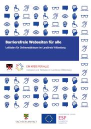 Vorschaubild: Barrierefreie Webseiten- Leitfaden für Onlineredakteure im Landkreis Wittenberg