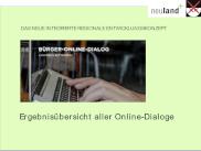 Vorschaubild: Ergebnisübersicht Bürger-Online-Dialoge