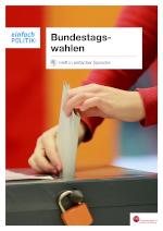 Wahlbroschüre in Leichter Sprache zum Herunterladen