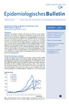 Epidemiologischen Bulletin vom Robert-Koch-Institut ©Robert Koch-Institut