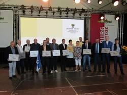 """Dorfwettbewerb """"Unser Dorf hat Zukunft"""" - Silber für Plossig"""
