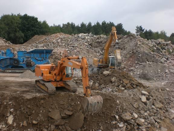 Bauschuttrecyclinganlage Euper