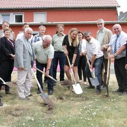 Baubeginn für schnelles Internet in Kemberg