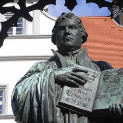 Lutherdenkmal Wittenberger Markt Foto lkwb