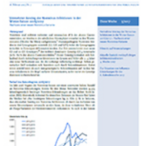 Epidemiologischen Bulletin vom Robert-Koch-Institut