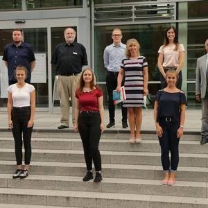 Die Kreisverwaltung Wittenberg begrüßt zum Ausbildungsbeginn in diesem Jahr fünf Auszubildende sowie zwei duale Studenten.