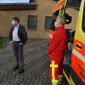 Neue Rettungswache in Schweinitz