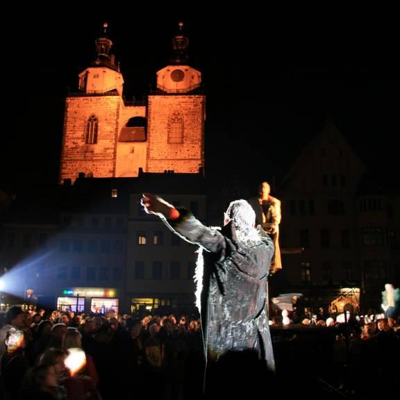 Theater Markt Wittenberg Foto lkwb ©Ronald Gauert