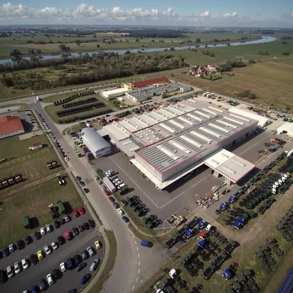 Luftbild EMPL Elster ©EMPL Fahrzeugwerk